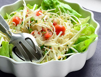 Salada de Espaguete Pupunha (vegana)