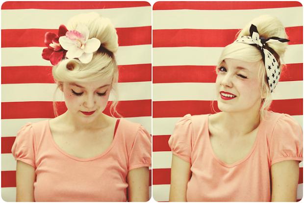 diva tube everyday vintage hairstyle