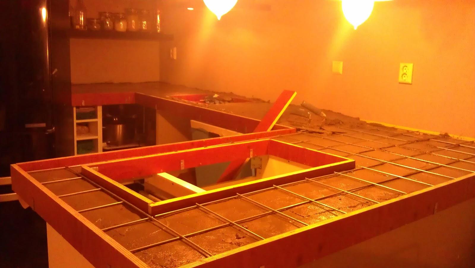 Pimpish DIY stappenplan betonnen aanrecht # Wasbak Gieten_222813