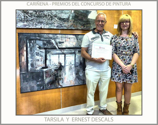 CARIÑENA-PINTURA-PREMIOS-CONCURSO-TARSILA-AYUNTAMIENTO-ARAGON-ESPAÑA-FOTOS-ARTISTA-PINTOR-ERNEST DESCALS-