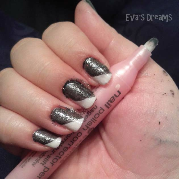 Nais of the week - Nail art design: Sandlack