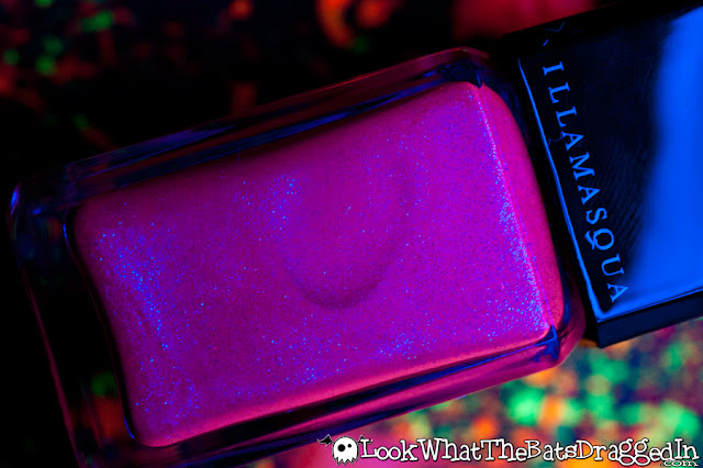 Illamasqua Paranormal Ouija nail polish collection swatch UV glow