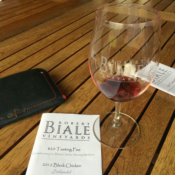 The Holland House: Biale Vineyards
