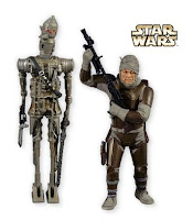 SDCC 2010 Hallmark exclusive Star Wars ornaments IG-88 and Dengar