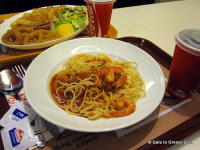 Spaghetti with Prawns