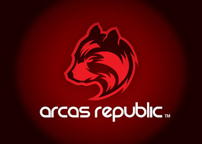 arcas republic logo design