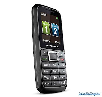 new Motorola WX294