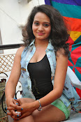 New Actress Jhansi Hot Stills in Shorts-thumbnail-1