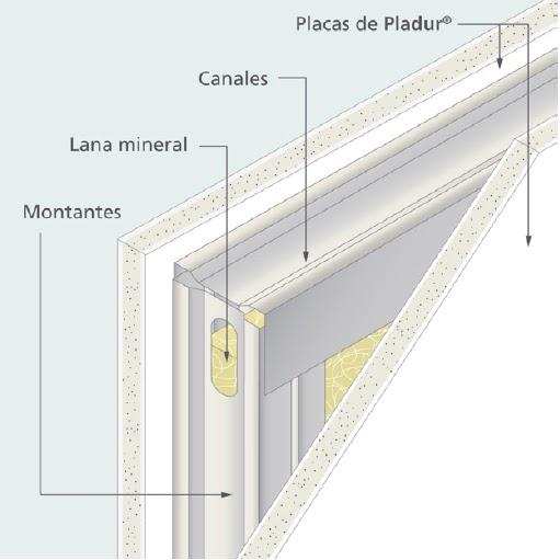 Adaptando la edificaci n a los nuevos tiempos los - Placas decorativas para pared interior ...