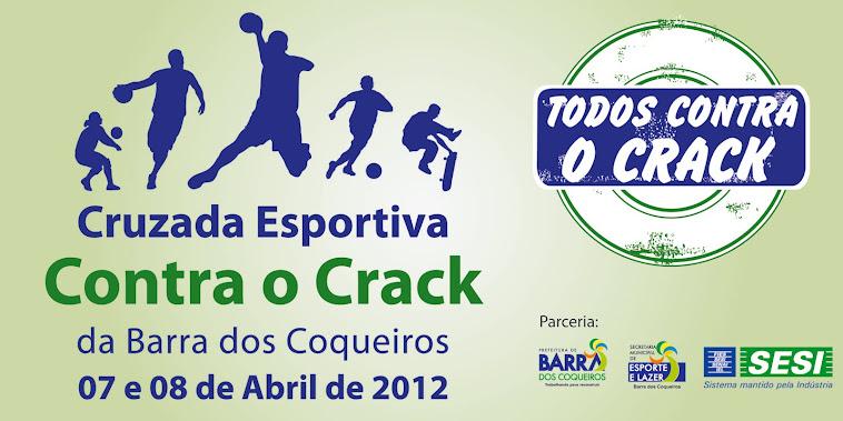 CRUZADA ESPORTIVA CONTRA O CRACK NA BARRA DOS COQUEIROS