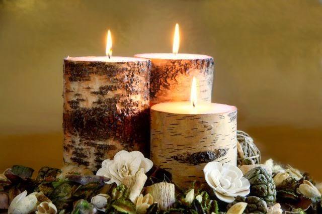 Hogar 10 decoraci n de oto o para los rincones de tu hogar for Decoracion del hogar con velas