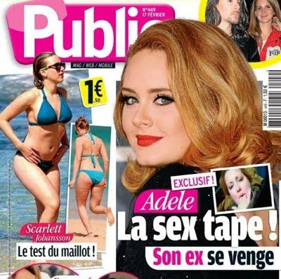 Adele Public Magazine Cover