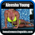 Aleesha Young Female Bodybuilder Thumbnail Image 1