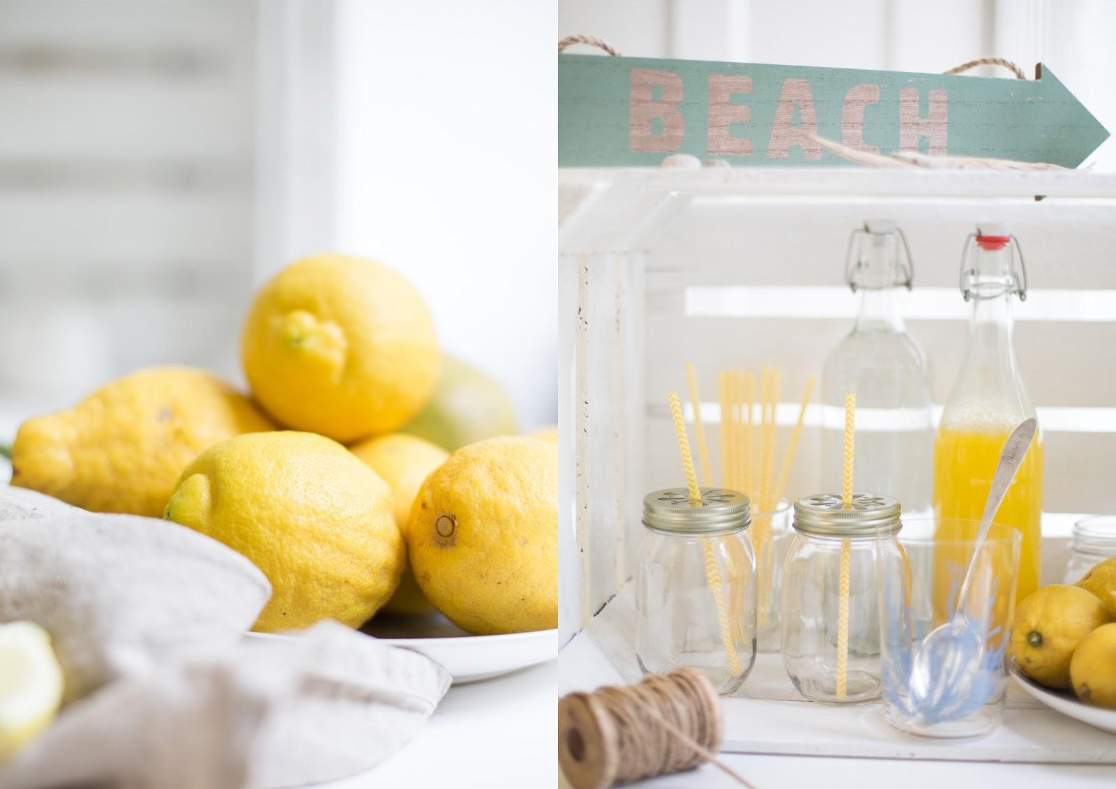 Mango-Zitronen-Limonade