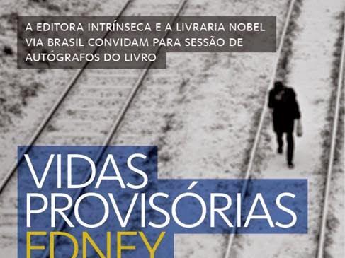 Sessão de autógrafos no Rio com Edney Silvestre, Editora Intrínseca e Livraria Nobel