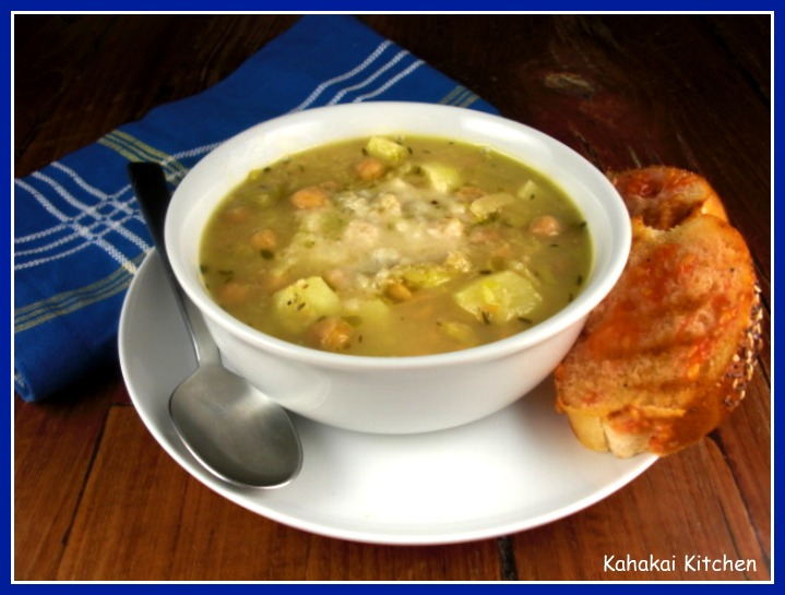 Kahakai Kitchen: Chickpea, Leek and Parmesan Soup ...