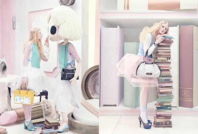 carlo rino, wonderland, handbag,