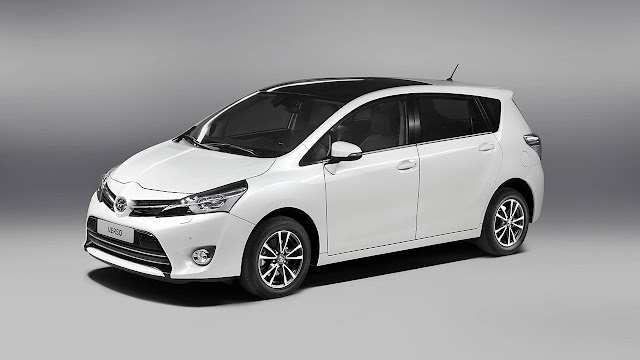 Tha New Toyota Verso front side