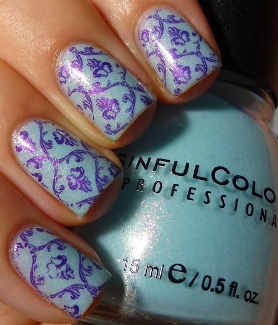 Cinderella, Sinful Colors, LeaLac XL B, Ulta3 Orchid, swatch