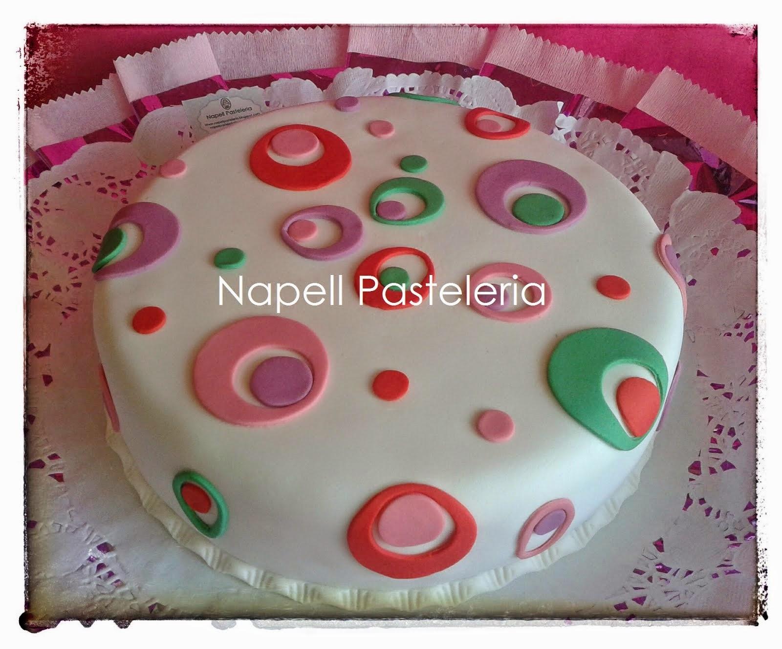 Torta doble lunares