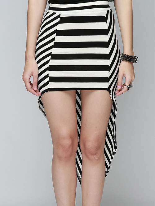 Striped Mullet Tail Skirt