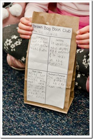 Book float and popcorn bag book report