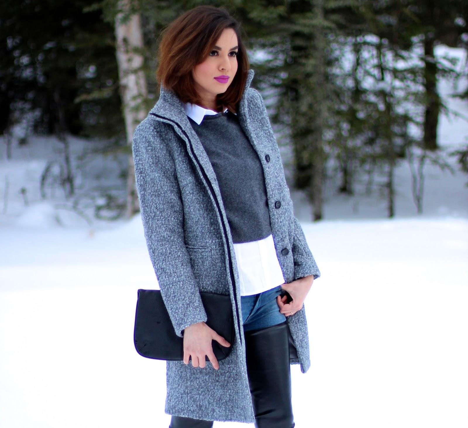 Coat H&m / Sweater Zara