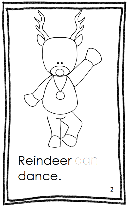 http://www.teacherspayteachers.com/Product/Reindeer-Fiction-Book-981433