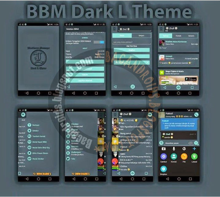Download BBM Mod Tema Dark L 2.6.0.30 APK