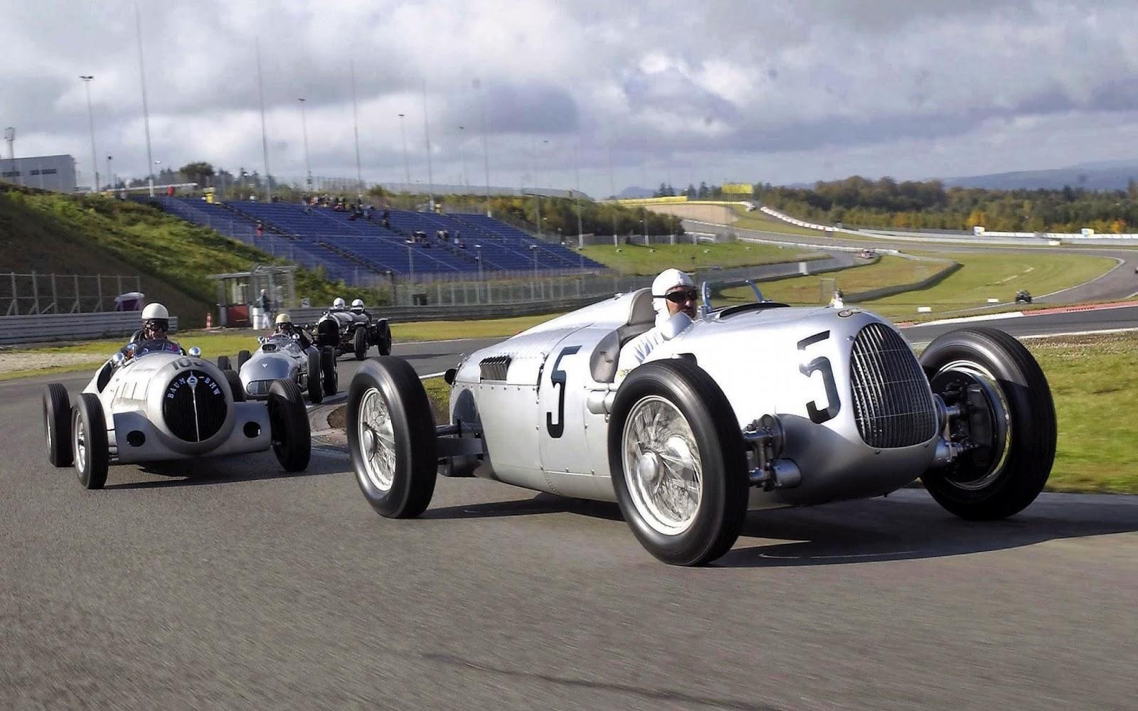 Transpress Nz 1930s Auto Union Racing Cars Germany