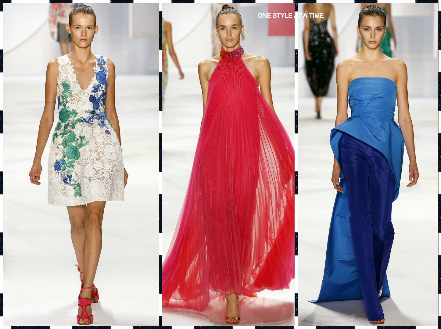 NYFW: SPRING '16 STRAIGHT FROM THE RUNWAY
