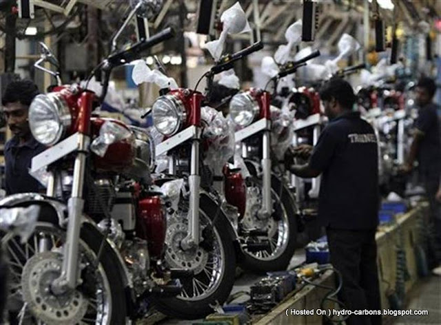 Royal Enfield  Factory - 57 years of Heritage
