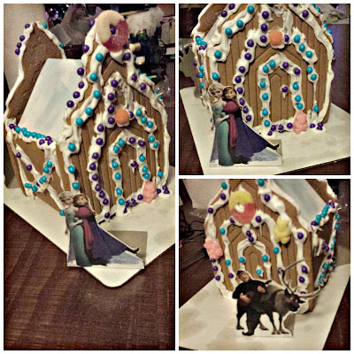 Disney's Frozen Gingerbread Ice Castle