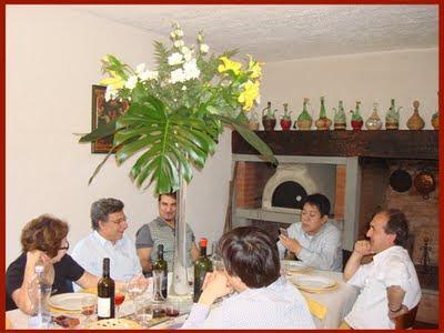 Tradizionale pranzo di benvenuto per la delegazione giapponese