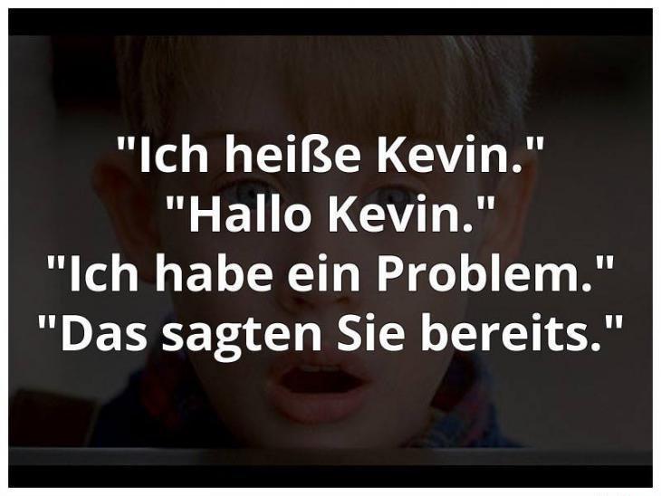 Einer der zahlreichen Kevin-Witze im Internet. (Quelle: www.echtlustig ...