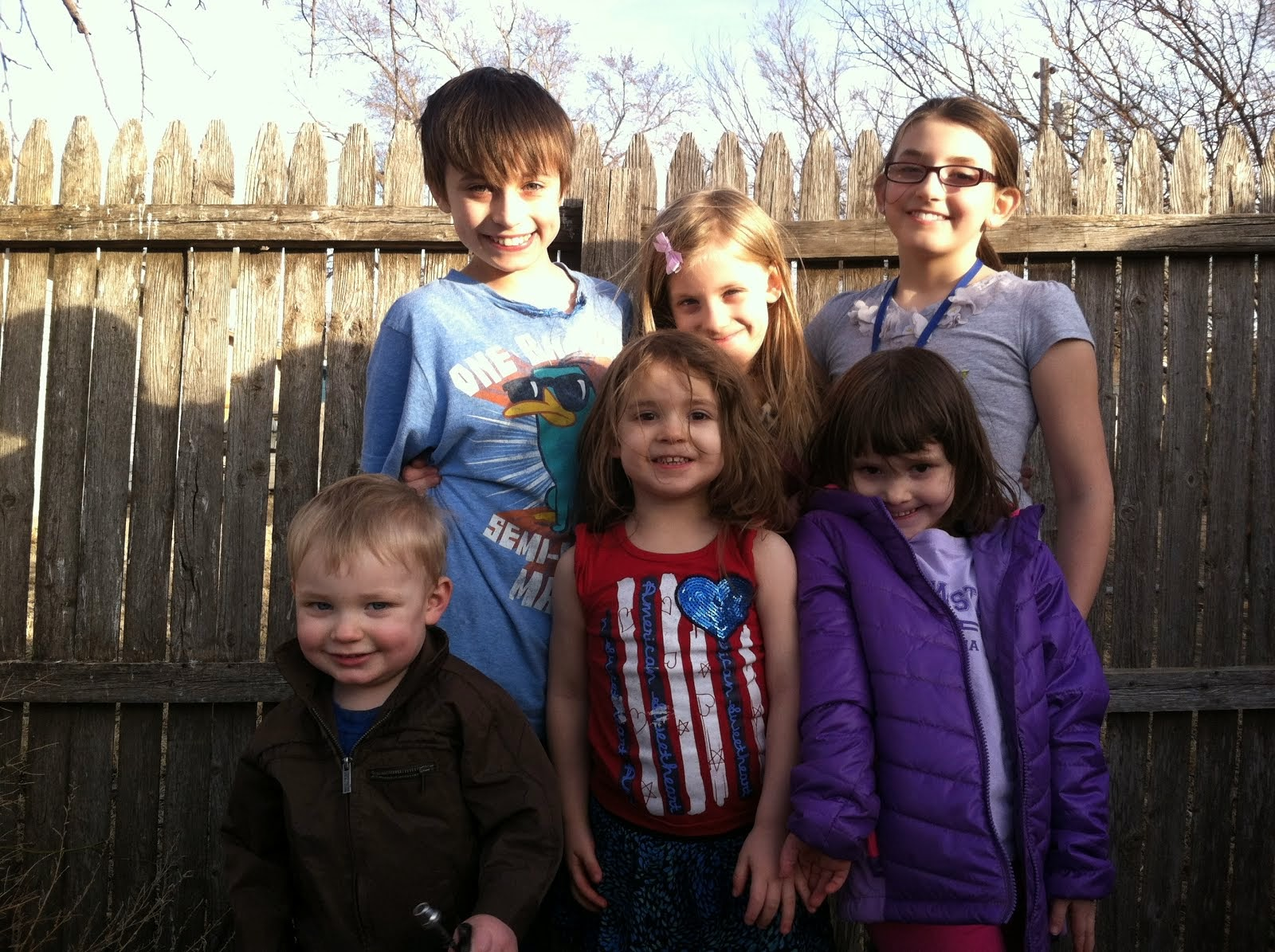 My awesome kiddos