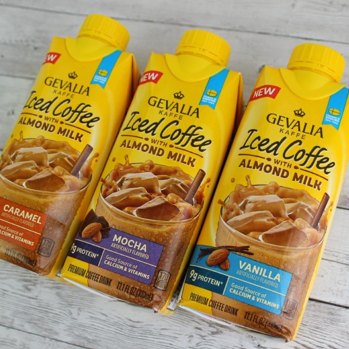 Gevalia Iced Coffee with Almond Milk #GevaliaIcedCoffee Mocha Caramel Vanilla