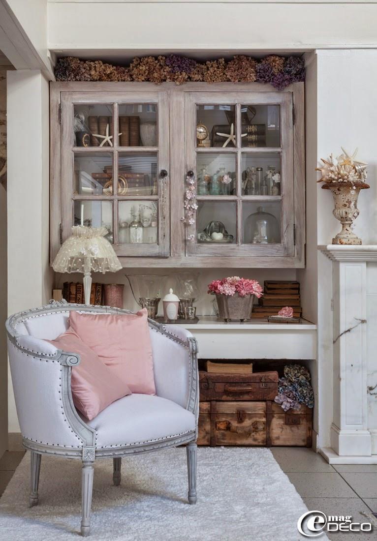une ancienne grange tr s shabby e magdeco magazine de d coration. Black Bedroom Furniture Sets. Home Design Ideas
