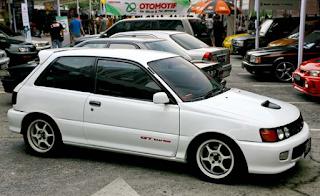 Modifikasi Toyota Starlet