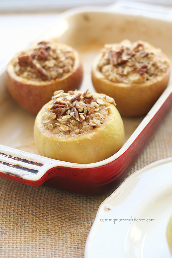 Vegan Gluten-Free Apple Cinnamon Baked Oatmeal and Apple Picking in ...