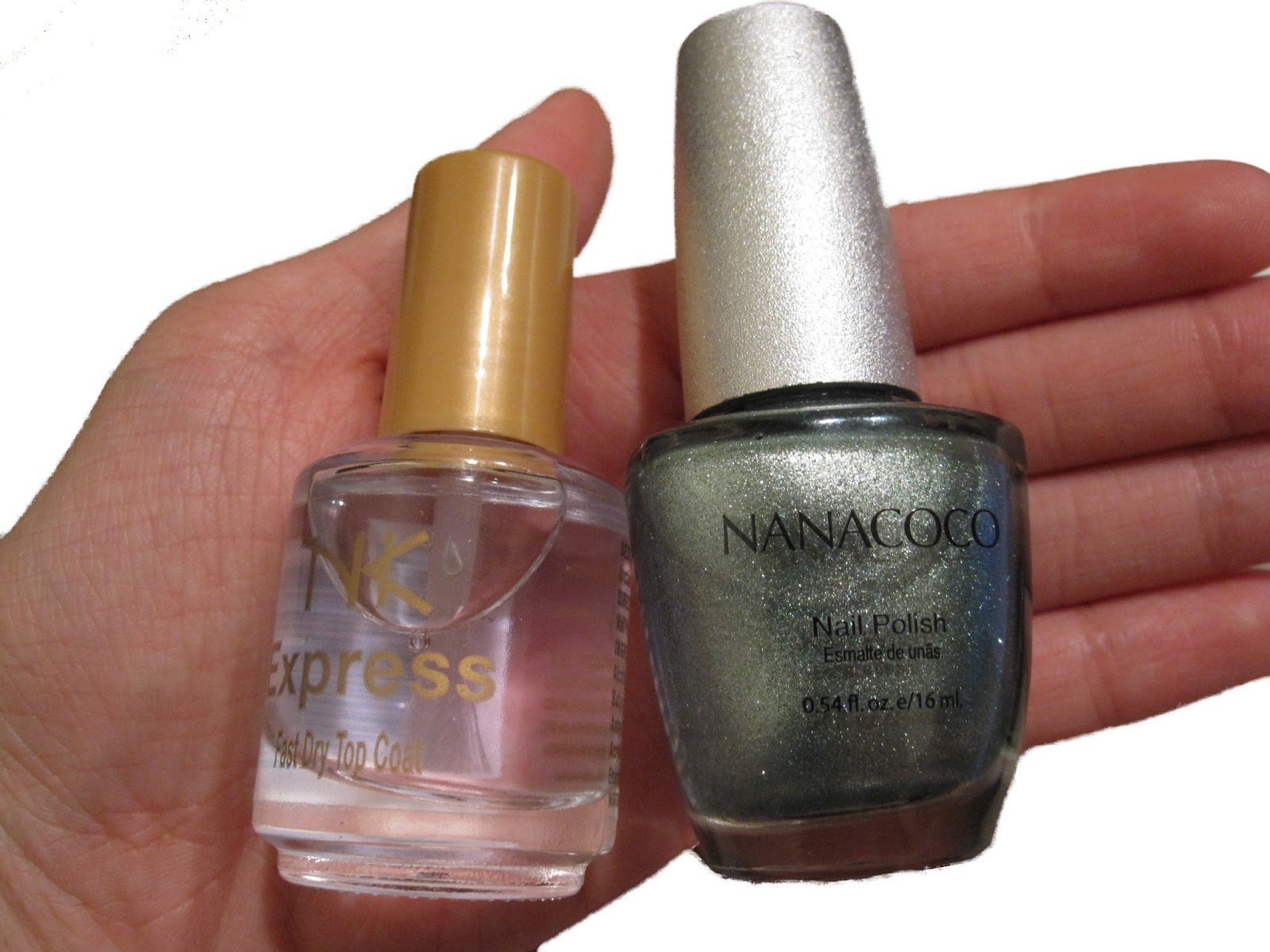 Everlastinghail: Nail Polish Review: Nicka K Top Coat, Nanacoco ...