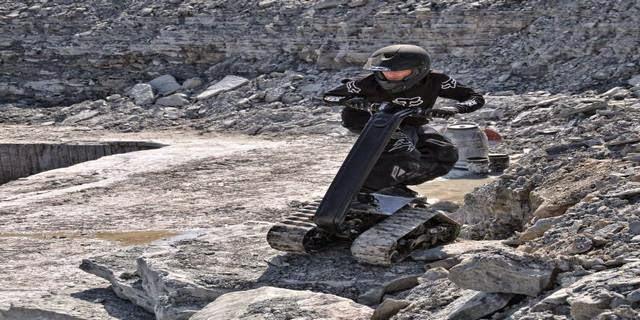 DTV Shredder Canavar Gibi Bir Paletli Parçalayıcı DTV