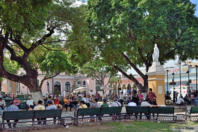 Parc au centre de Mérida