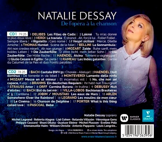 natalie dessay french opera singer Natalie dessay quits london fared the worst of any major opera centre in the dessay stakes natalie you're one of the greatest singers in the world.