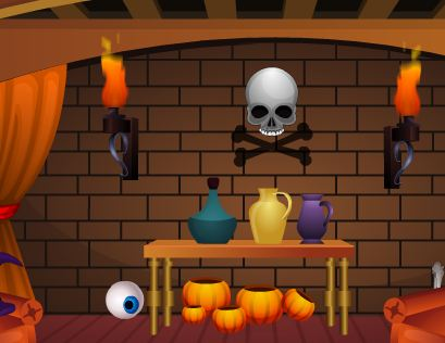 FirstEscapeGames Halloween Skeleton Escape