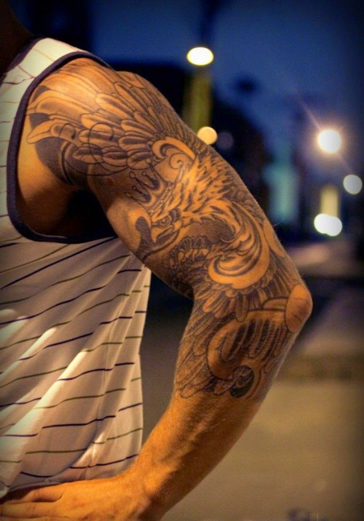 Half Sleeve Tattoo Designs for Men
