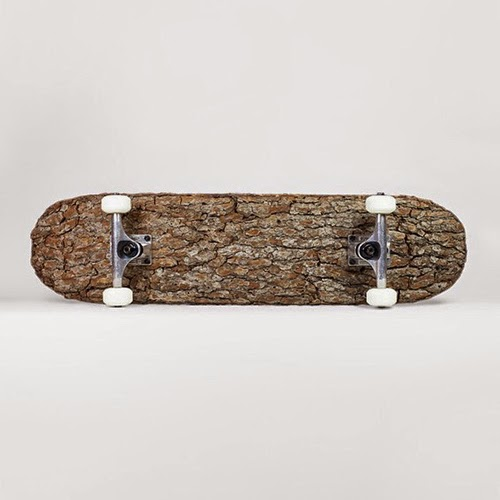 Tree Bark Skateboard