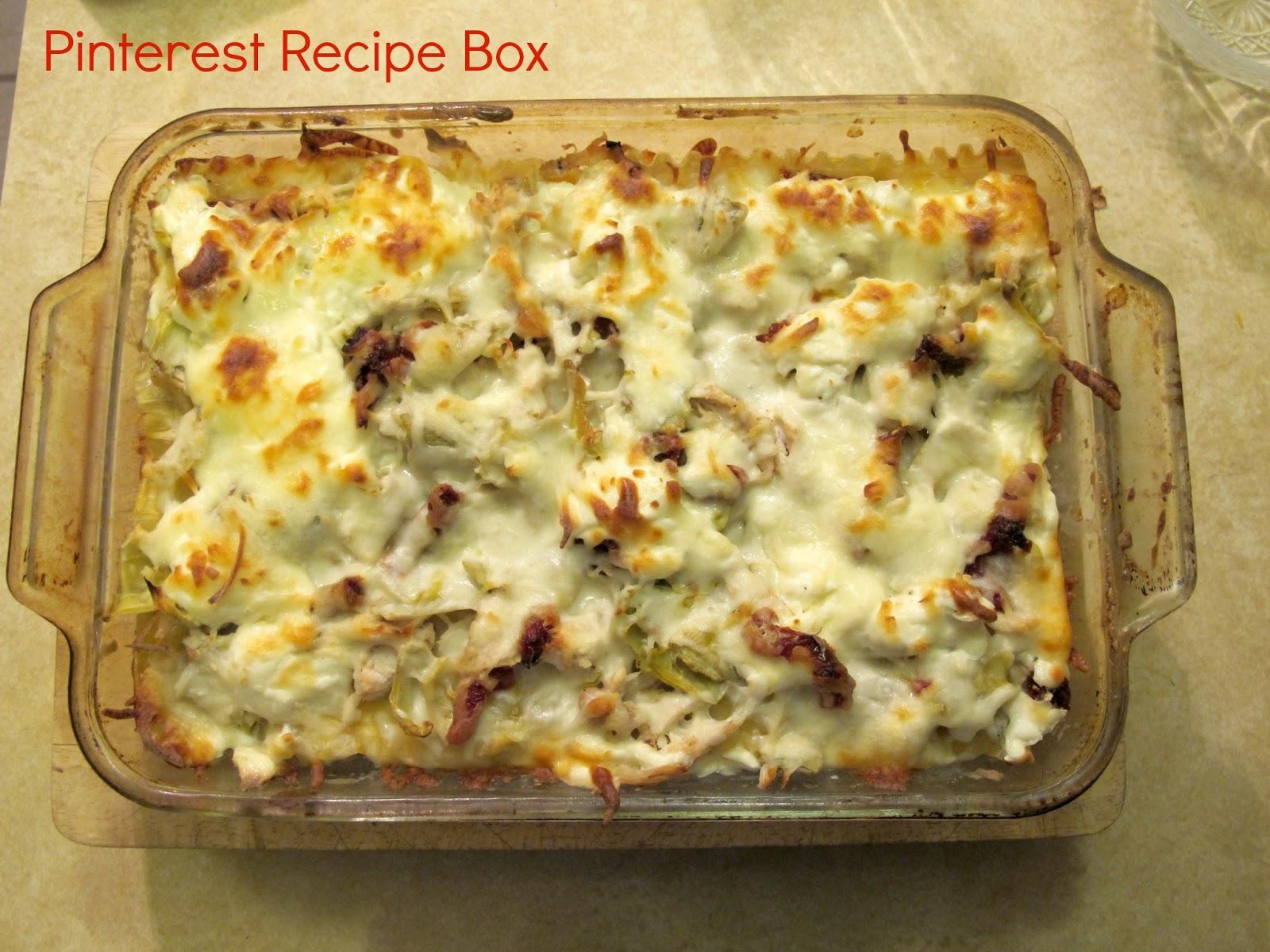 Creamy Artichoke Lasagna Bake Recipe — Dishmaps