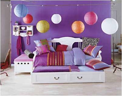 Teenage Girl Room Ideas Designs playful yet mature polka dots this contemporary teen bedroom Teen Girl Bedroom Idea 15 Teenage Girl Room Ideas Designs