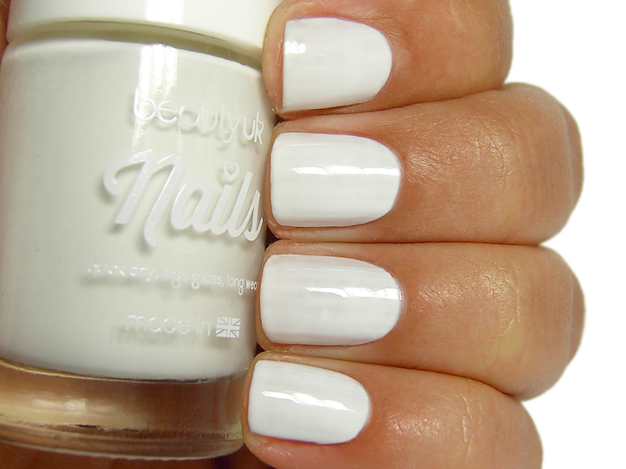 Beauty UK Nails - White Out